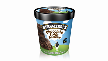 Produktbild Ben & Jerry's - Chocolate Fudge Brownie